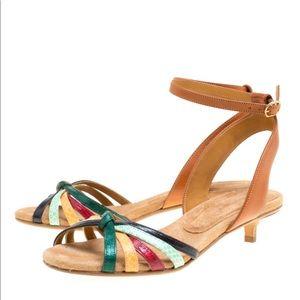 Isabel Marant Étoile Leather Ankle Wrap Sandal